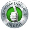 Ekomi Websitebeurteilung - Sehr gut | SolarPowerSupply
